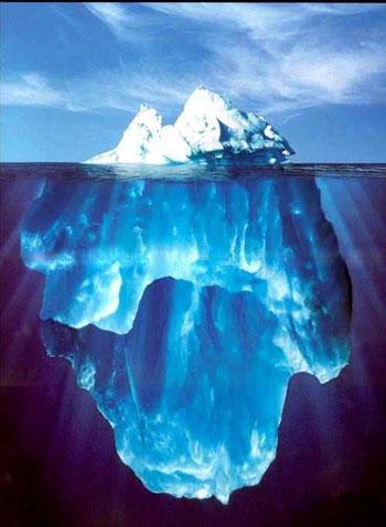 Pour qu'une personne puisse obtenir un emploi . Doit-elle modifié sa polarité ? Iceberg-taille